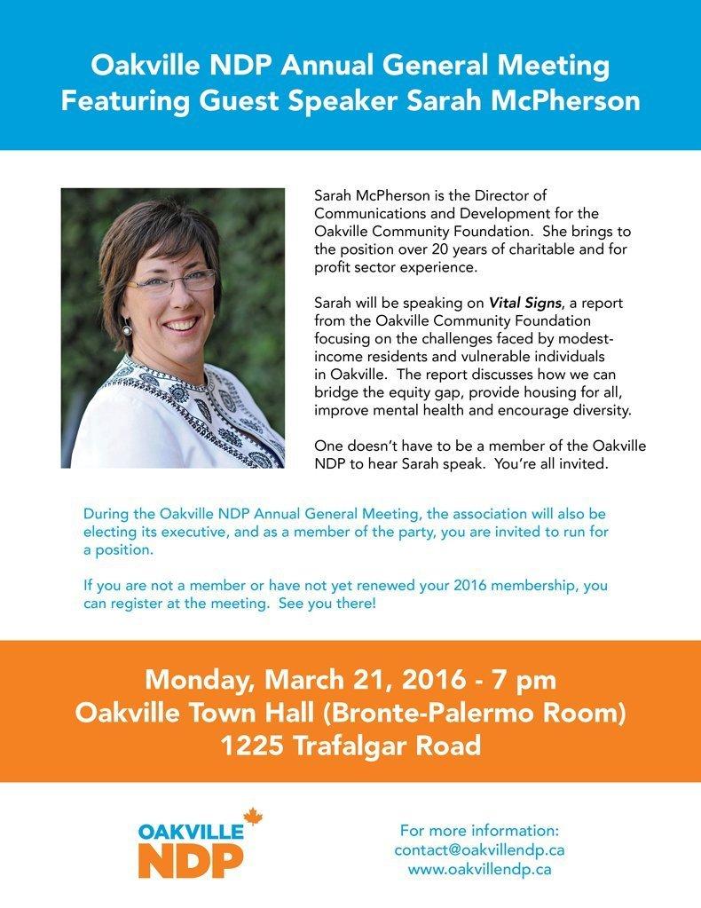 Oakville-NDP-Poster-for-2016-AGM