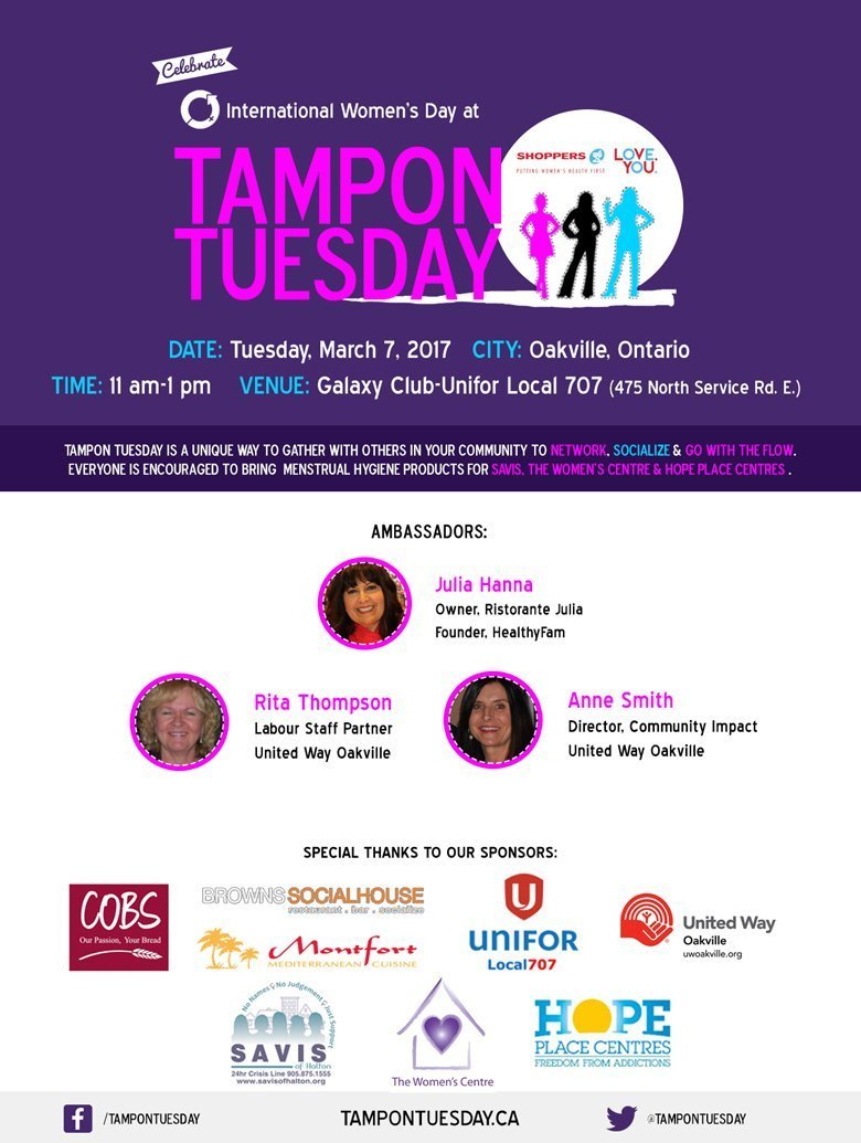 First-Annual-Tampon-Tuesday-Event-in-Oakville-on-March-7-Final