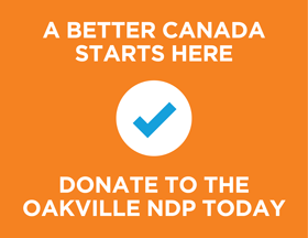 Oakville-NDP-Donate-Today