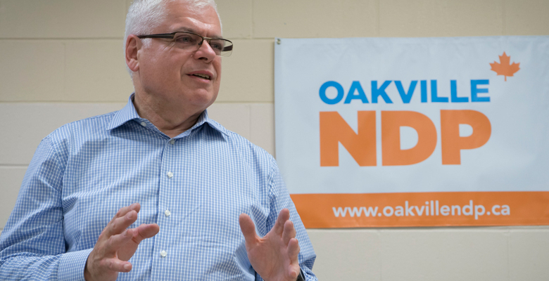 Peter Tabuns Addresses Oakville NDP Annual General Meeting