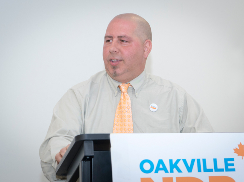 Let's Do This! – Oakville NDP Chooses Jerome Adamo as Federal NDP Candidate