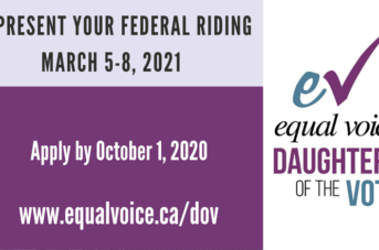 Equal Voice Fights to Support and Elect More Women into Political Office