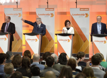 First Federal NDP Leadership Debate Gets Race Going