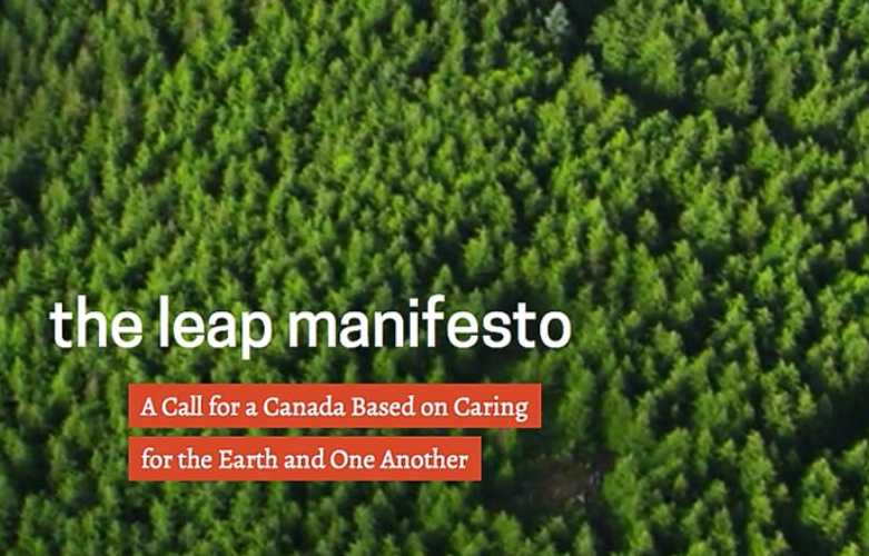 The Leap Manifesto – What it Will Mean for the NDP and Canada