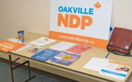 Oakville NDP to Hold Nomination Meeting and AGM on Tuesday, May 1, 2018
