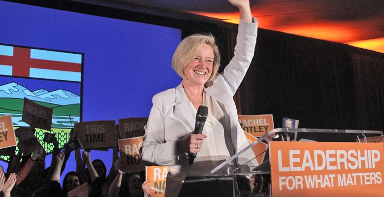 Orange Crush in Alberta Boosts Federal NDP